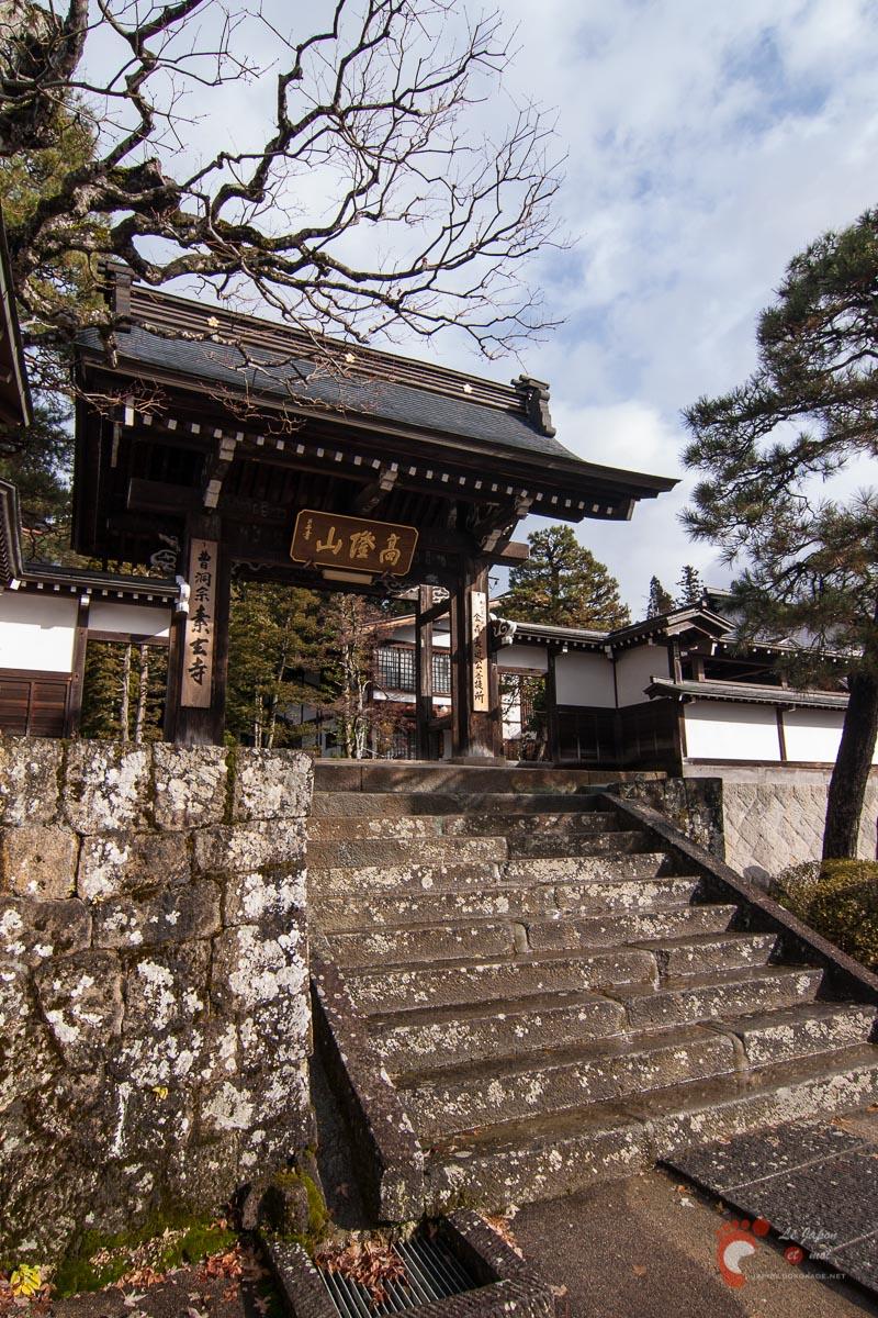 Takayama - Quartier des temples - Sôgen-ji 素玄寺