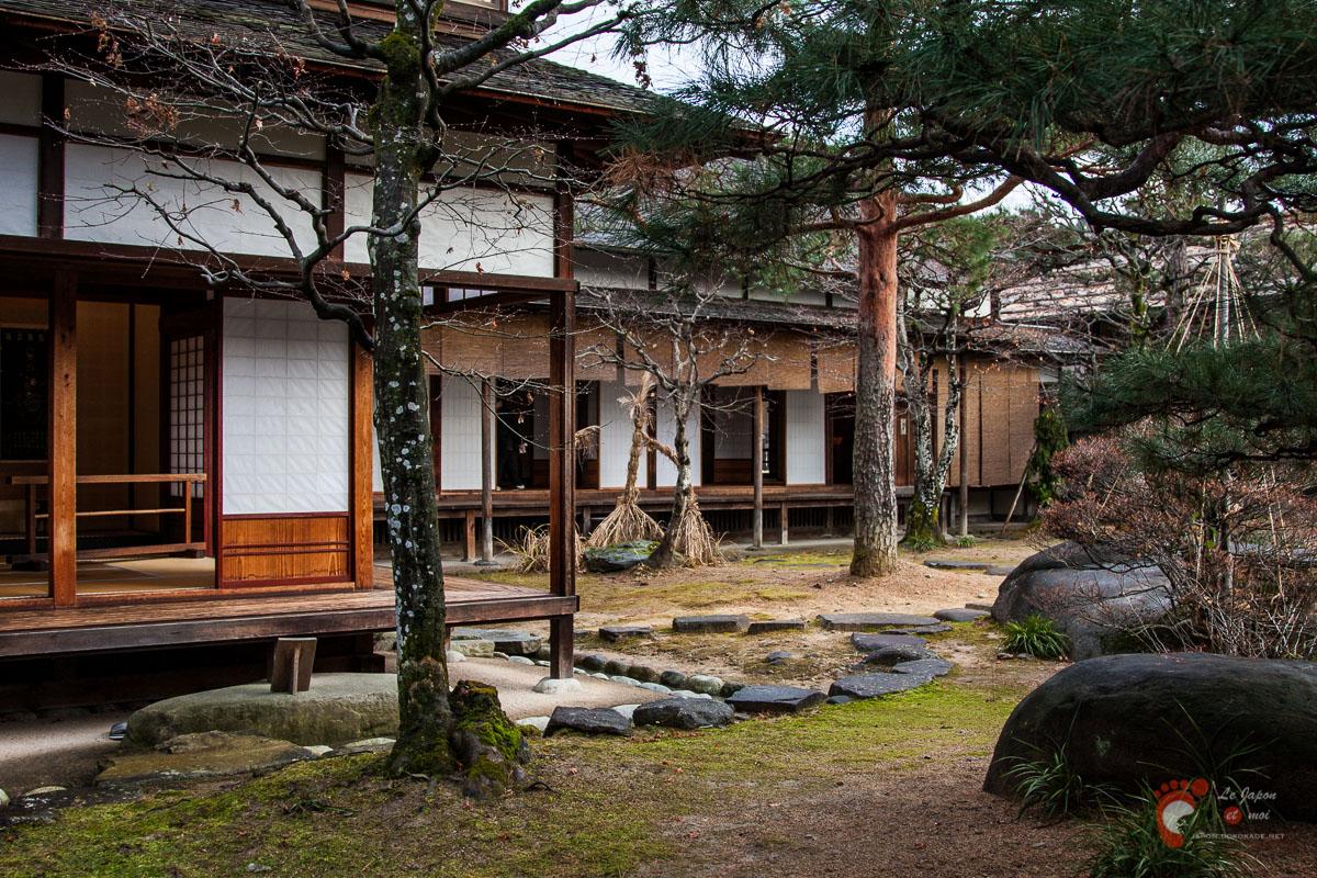 Jardin intérieur de Takayama Jinya 陣屋