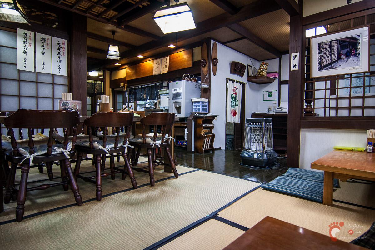 Hida-soba à Takayama
