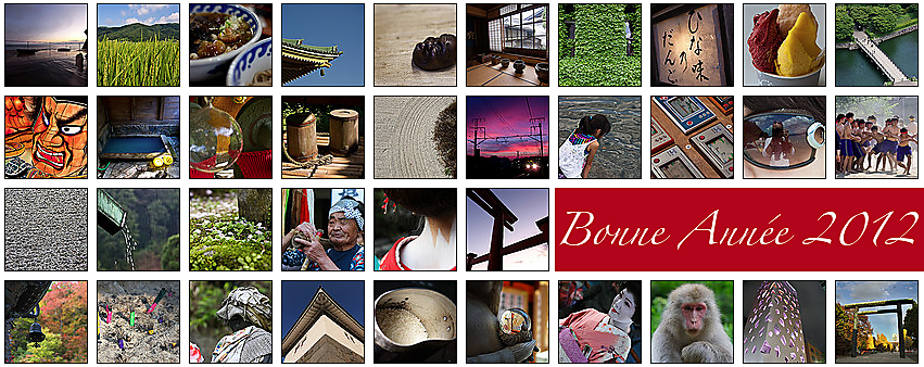Bonne Année 2012 du Japon