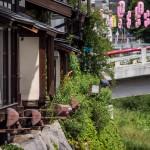 Matsumoto - Sur la rivière Metoba-gawa