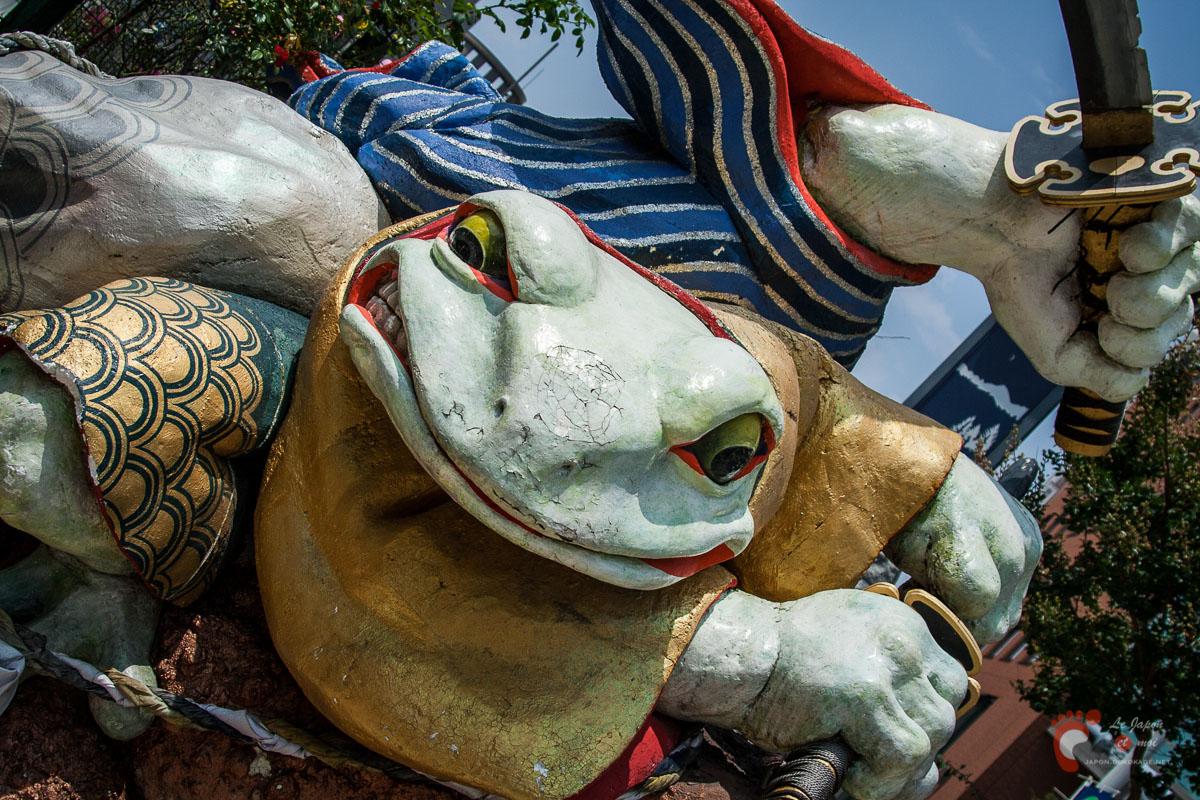 Matsumoto - Les Gama-Samurai de la rue Nawate