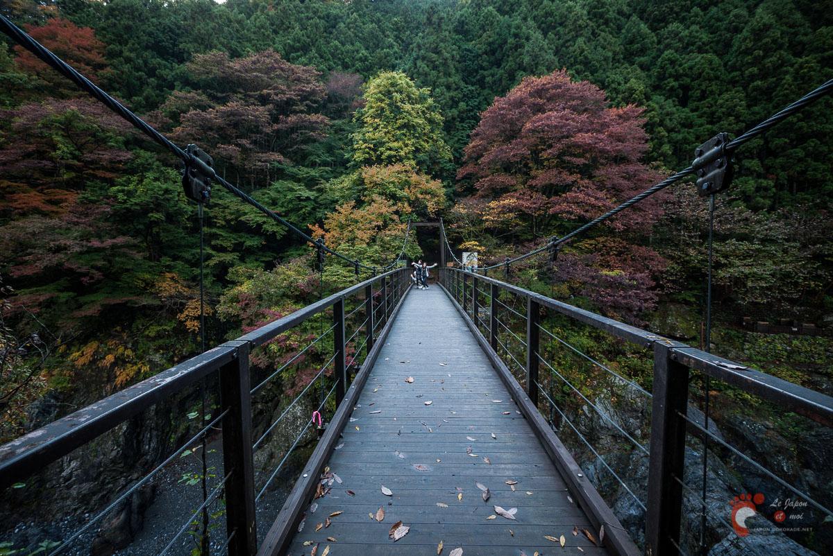 Le pont Kobashi de Hato-no-Su